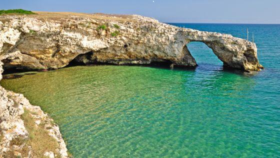 acque cristalline in Puglia