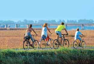 Itinerari in bicicletta a Cavallino
