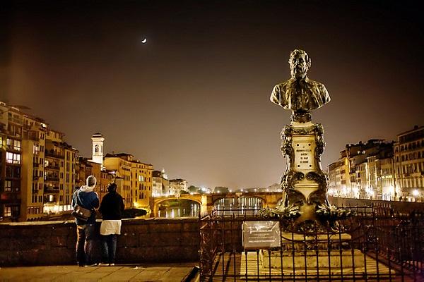 Coppia a Firenze