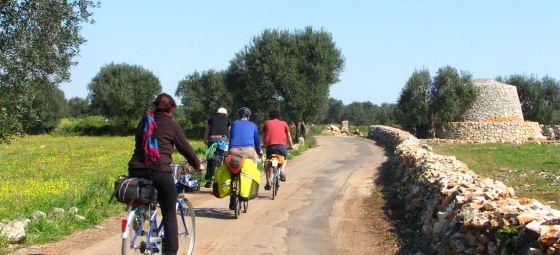 Percorsi in bicicletta nelle campagne del Salento
