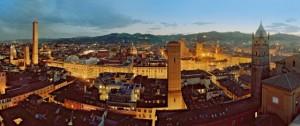 Panoramica di Bologna vista dall' alto