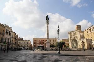 Il centro storico di Lecce