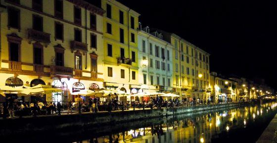 Foto di Milano in notturna