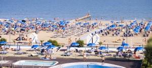 La spiaggia di Jesolo
