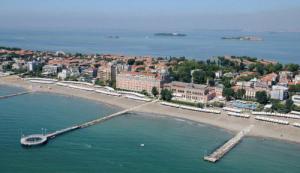 spiaggia al Lido di Venezia